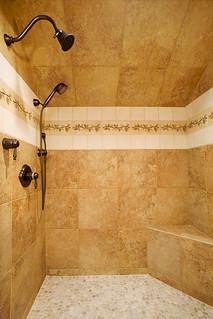 Steve Bennett Builders Interior Photo Custom Shower In