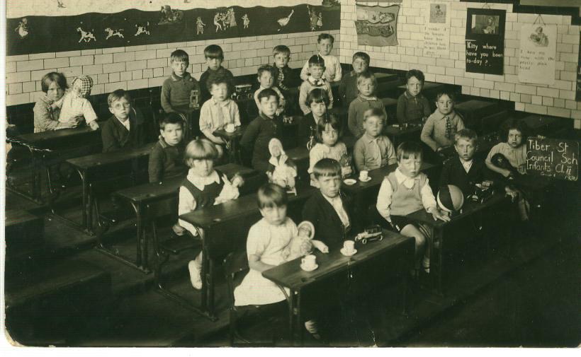 Tiber Street School Toxteth Liverpool 8 1931 My Dad