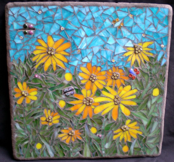 In Field Stained Glass Mosaic Art