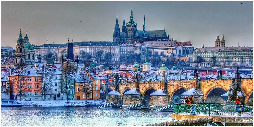 Le Torri di Praga dinverno  Le Torri di Praga Praha v zime  Flickr