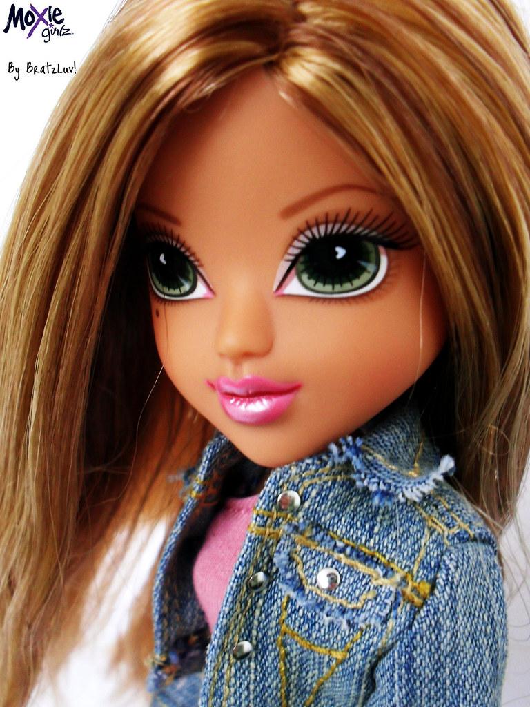 Moxie Girlz Monet From Head Gamez Her Hair Looks Short