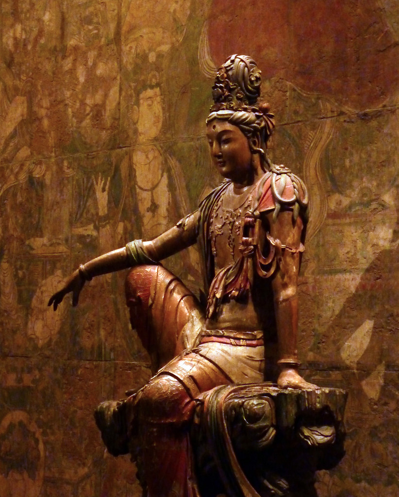 Guanyin Bodhisattva of the Southern Sea  Guanyin of the
