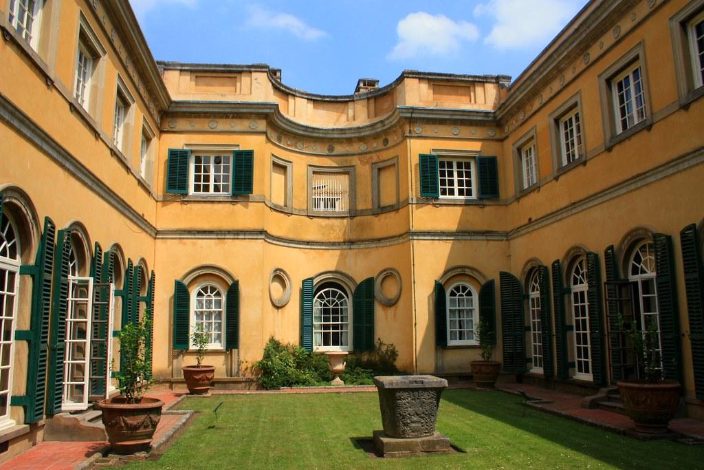 Interior Courtyard Polesden Lacey NT Surrey Taken Of
