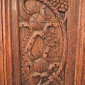 Ch 226 teau d azay le rideau carved wooden door panel with p