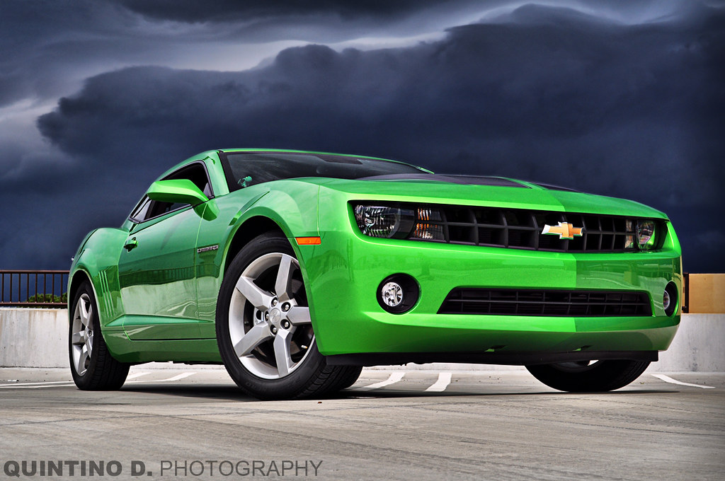 All White Cars Wallpaper The Synergy Green 2010 Camaro The Storm Is Real
