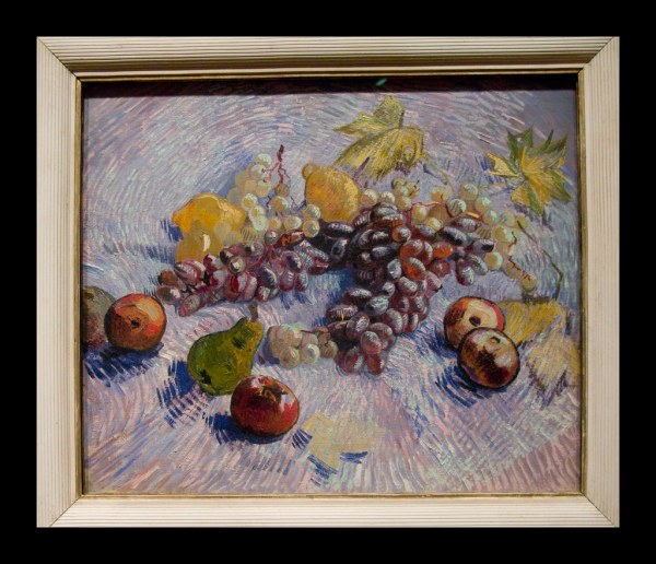 Van Gogh Chicago Art Institute Life Witgh Grapes