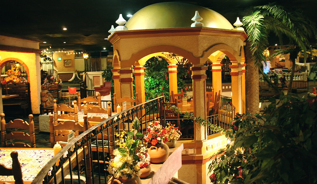 inside at Casa Bonita   Denver Colorado  Scorpions