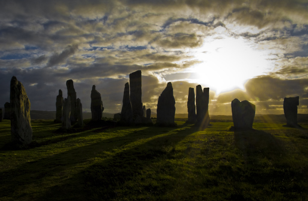 Callanish Stones These Are The Standing Stones At