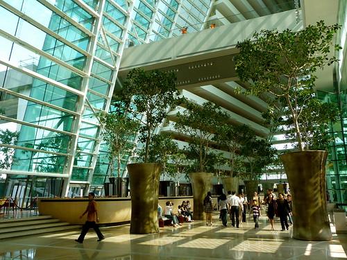 Lobby of Marina Bay Sands  goodhomeideasblogspotcom