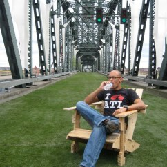 Adirondack Chairs Portland Oregon How To Make A Wooden Beach Chair Repurposed Goods Pallet In O Flickr By Sheltondavis