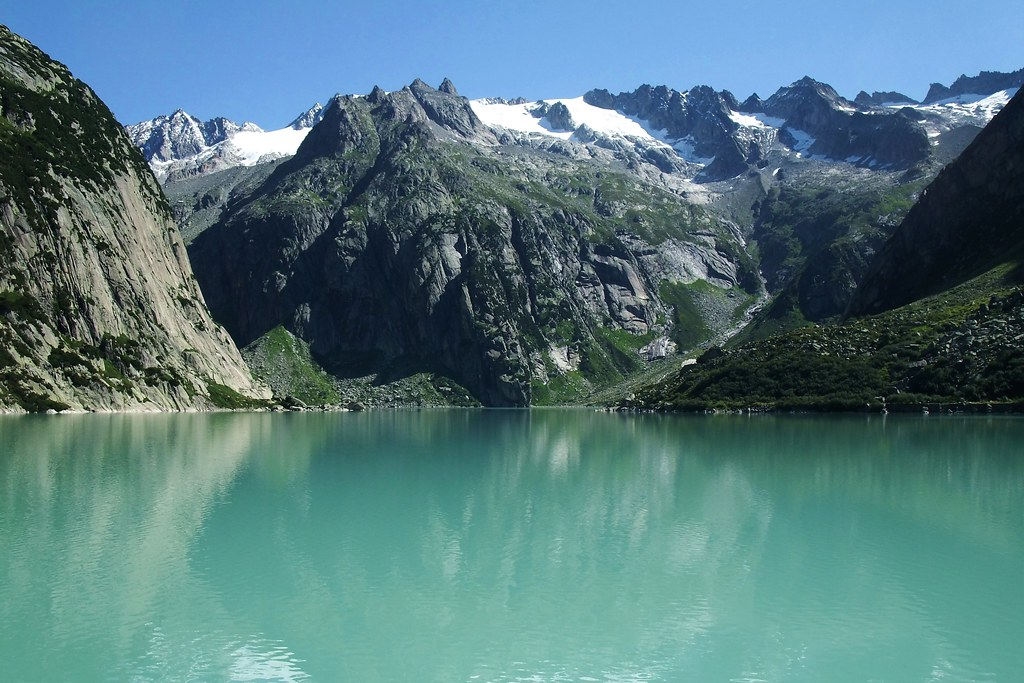 Grimsel Gelmersee  Switzerland  This reservoir with a usef  Flickr