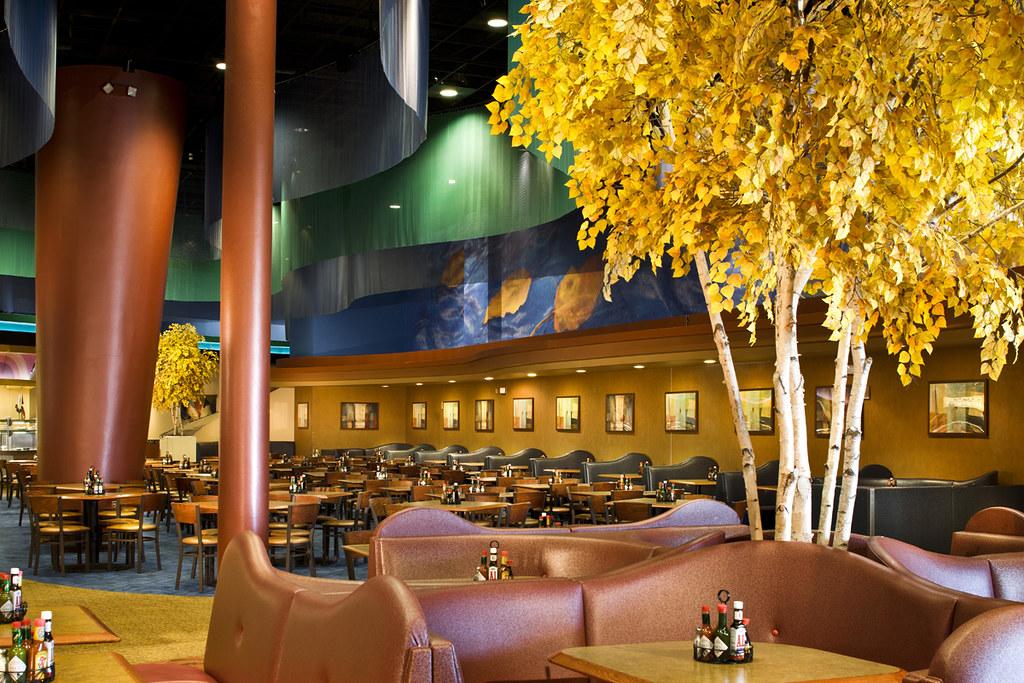 Casino Buffet Buffet Dcor Restaurant Environment Ar
