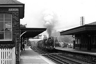 Old Photograph Railway Station Leven Fife Scotland  Flickr