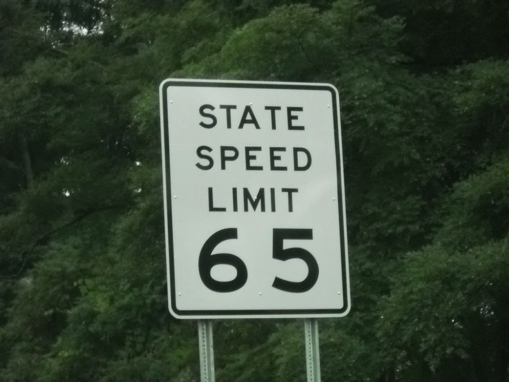 medium resolution of  westbound i 88 state speed limit 65 old since replaced