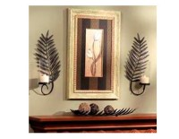 Palm Leaf Wall Sconce Candle Holders 110-857 | Habitatter ...