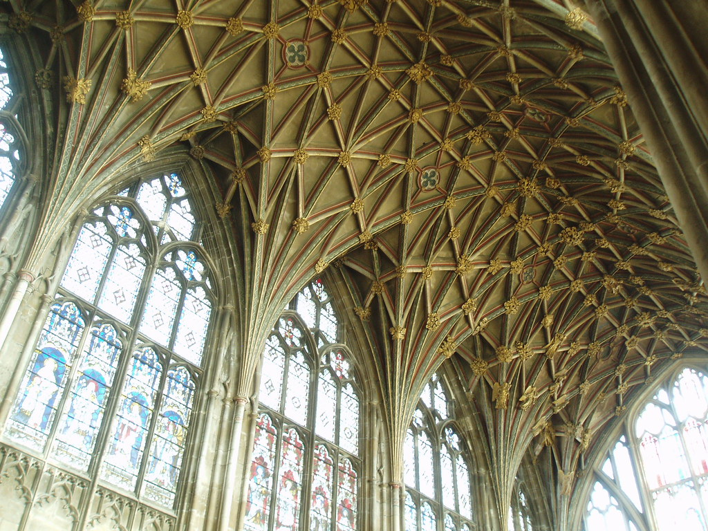 Choir Vault Gloucester Cathedral  Gloucester Cathedral