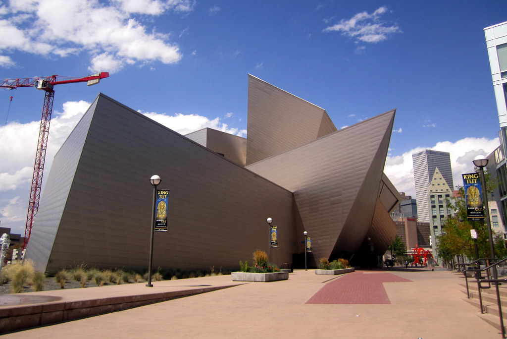 Denver Civic Center Denver Art Museum Frederic C Ham Flickr