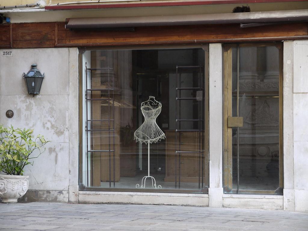 Empty Shop Window Venice  Yortw  Flickr