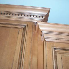 Kitchen Cabinet Crown Molding Rustic Table And Chair Sets American Corporation