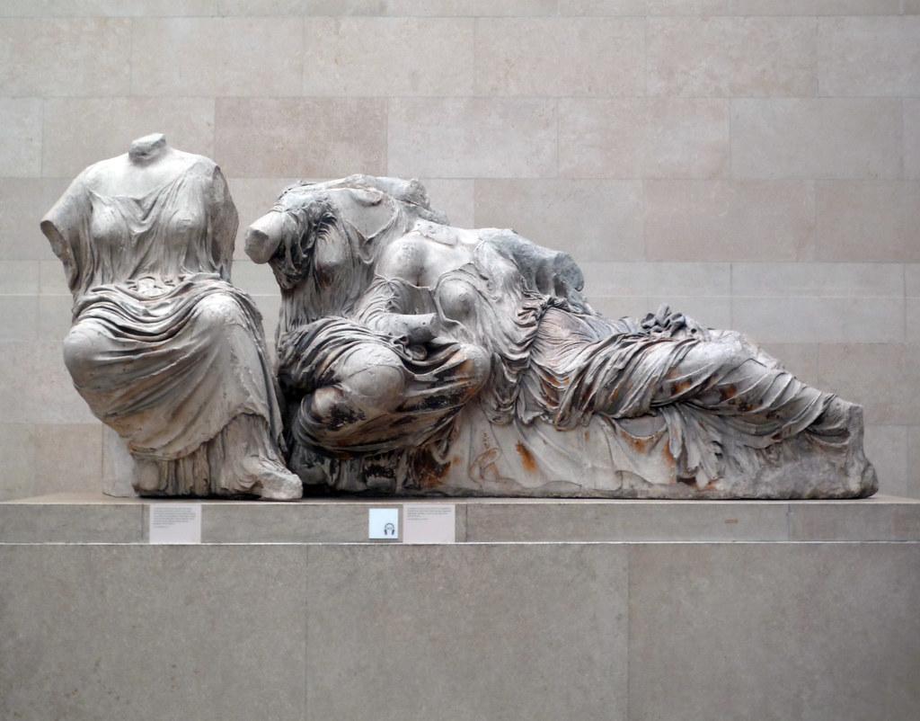 Phidias Parthenon East Pediment Sculpture Hestia Dione
