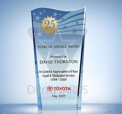 Recognition Service Years 25