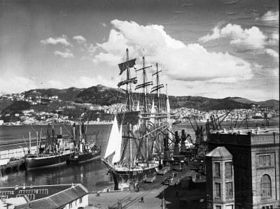 Sailing Ship 'Pamir', circa 1941 | Sailing Ship 'Pamir ...