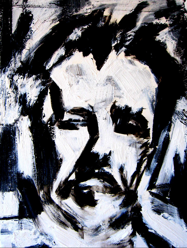 Franz Kline  Hi everyone this is a painting of a man that