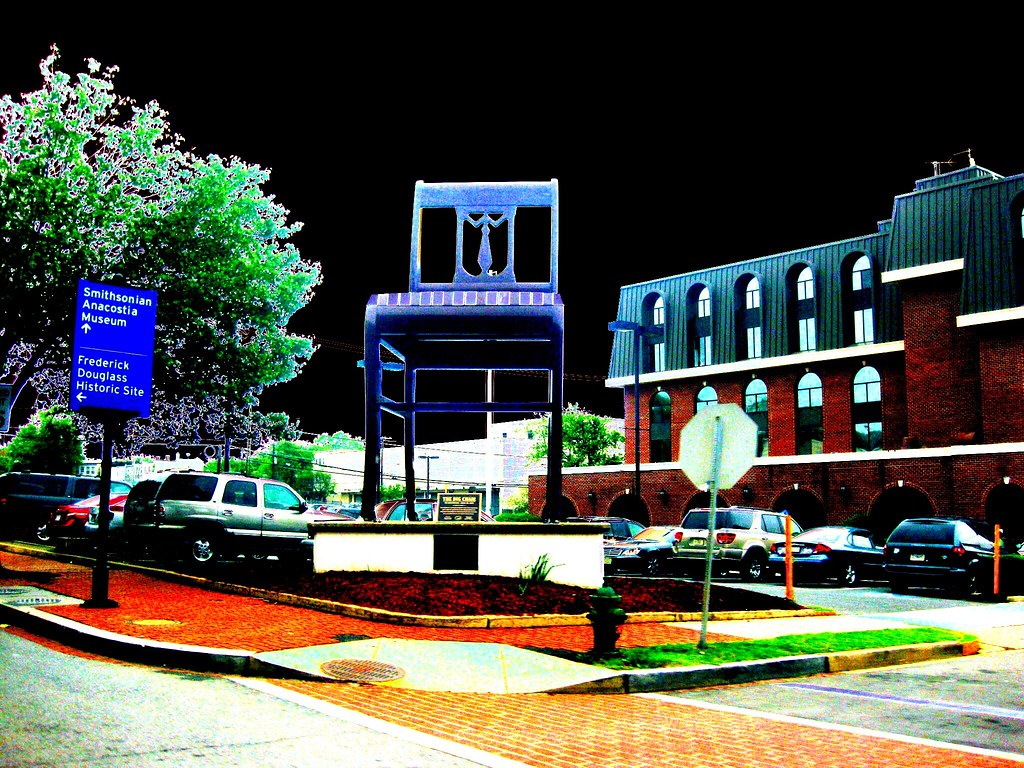 The Big Chair once was The Worlds Largest Chair MLK ave