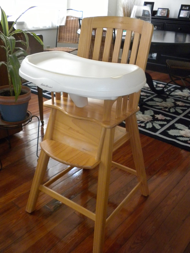 eddie bauer wood high chair used vending massage chairs for sale highchair sturdy from edd flickr by w2scott