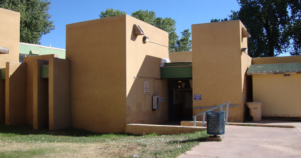 Old Taos County Jail Taos New Mexico  This Modern 1968