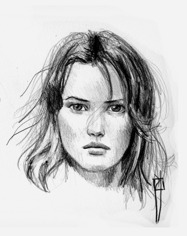 Face Sketch 2010 10 Woman-sketc