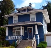 Dark Blue Exterior Houses