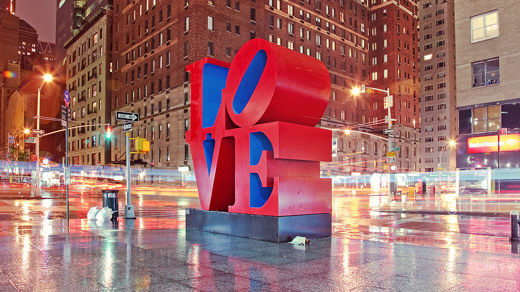 Love Sculpture Love Sculpture 1359 Avenue Of The