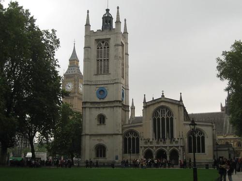 Patrimonio de la Humanidad en Europa y América del Norte. Reino Unido. Iglesia de Santa Margarita.