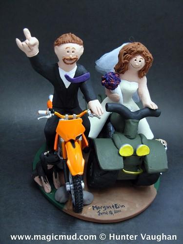 ATV And Dirt Bike Wedding Cake Topper 3 ATV And Dirt