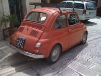 Fiat 500 with Roof Rack | Flickr - Photo Sharing!