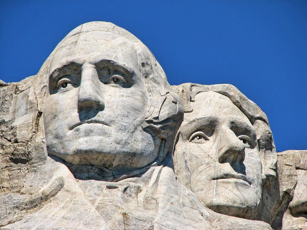 Mount Rushmore  Washington  Jefferson  Mount Rushmore