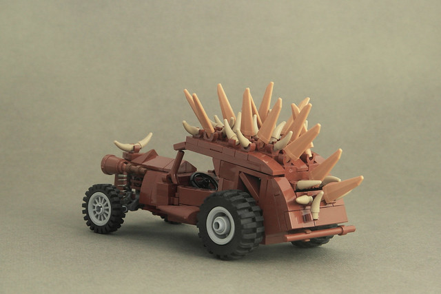 Plymouth Rock Inspired Mad Max Fury Road LEGO MOC