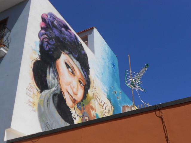 Streetart Puerto de la Cruz Zona La Ranilla
