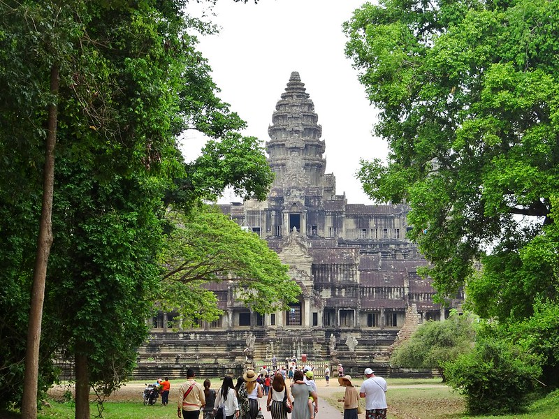 Angkor Wat temple, Siem Reap, Cambodia - the tea break project solo travel blog