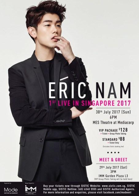 Eric Nam 2017 Poster R3