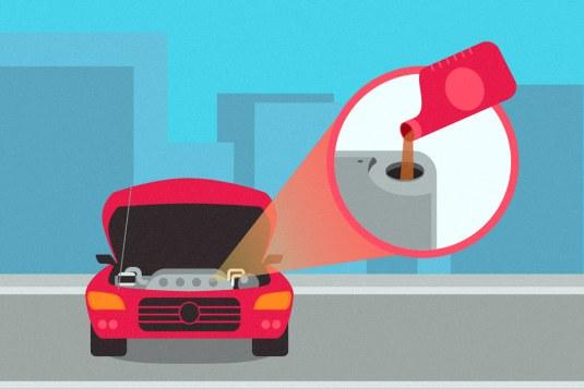 Image result for car oil change illustration