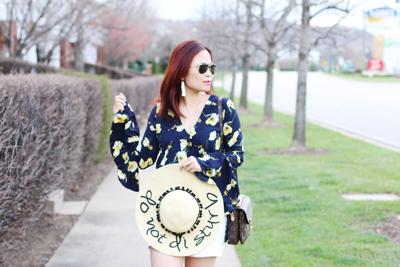 floral-bell-sleeve-top-do-not-disturb-hat-6