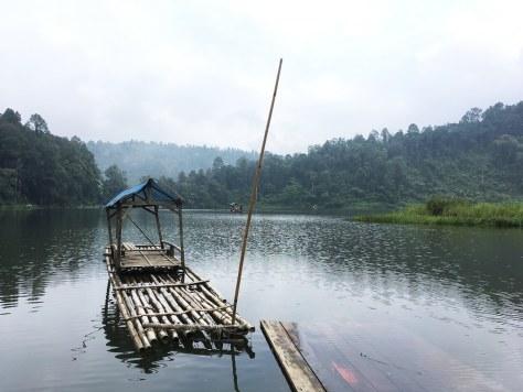 Lone Bamboo Raft