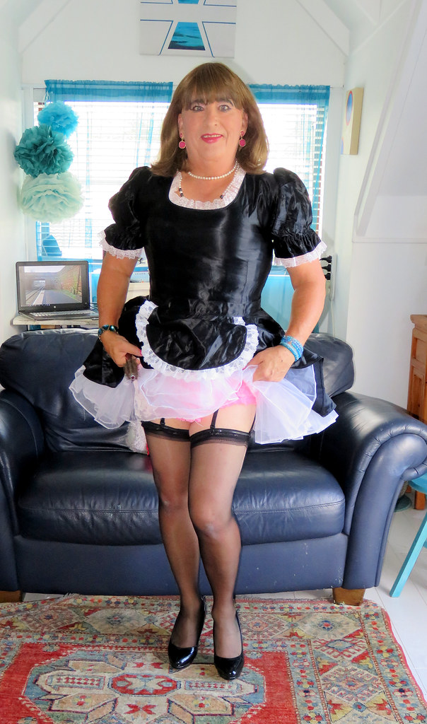 Hint of Pink  when new frilly knickers arrive in the post