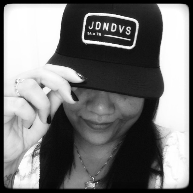 me with my new Jordan Davis cap