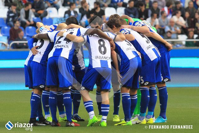 Liga Santander. RC Deportivo 3 - UD Las Palmas 0