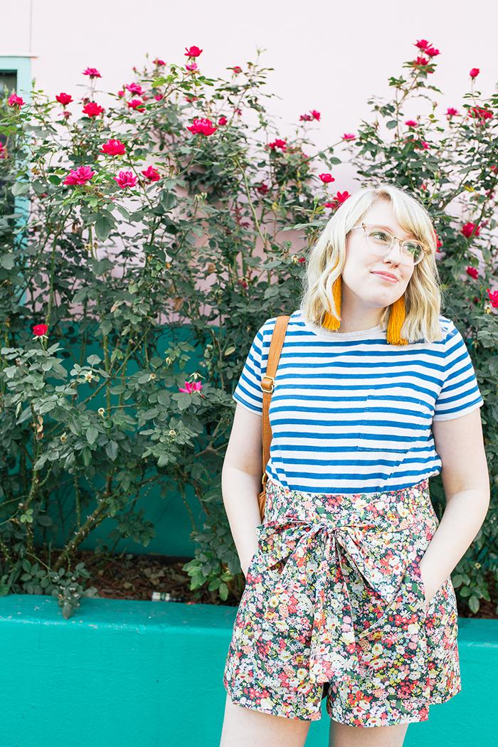 austin style blogger writes like a girl jcrew liberty floral shorts12