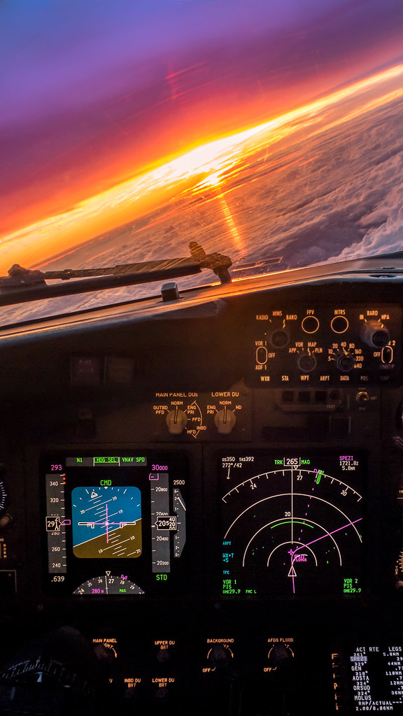 A380 Wallpaper Hd 737 Cockpit Sunset Phone Wallpaper Canon G7x Gc232