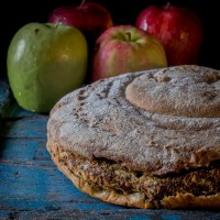 Funky e Frattaglie:   la chiocciola di pane  alla salsa verde alleggerita